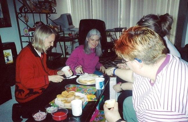 Brenda's birthday party