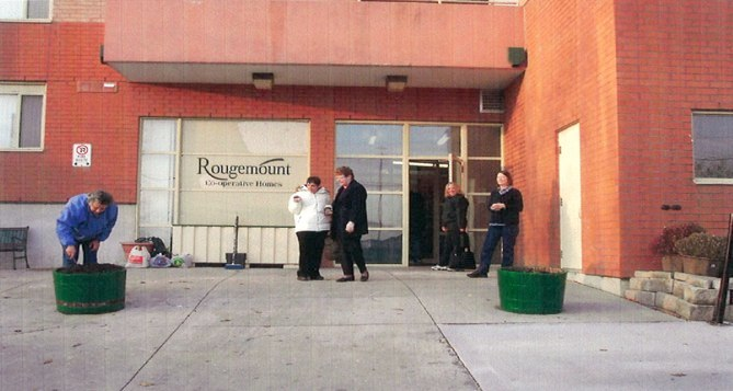 Rougemount front entrance