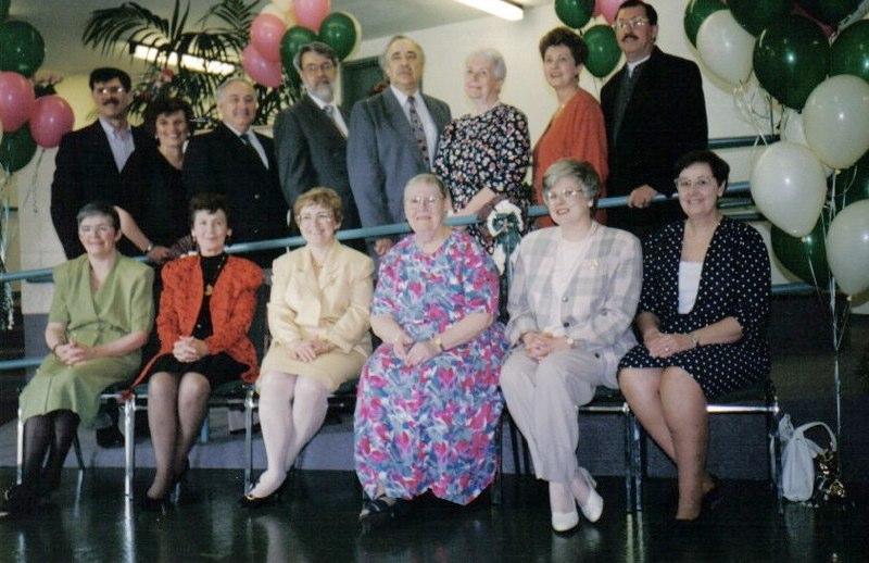 Rougemount Board in 1994