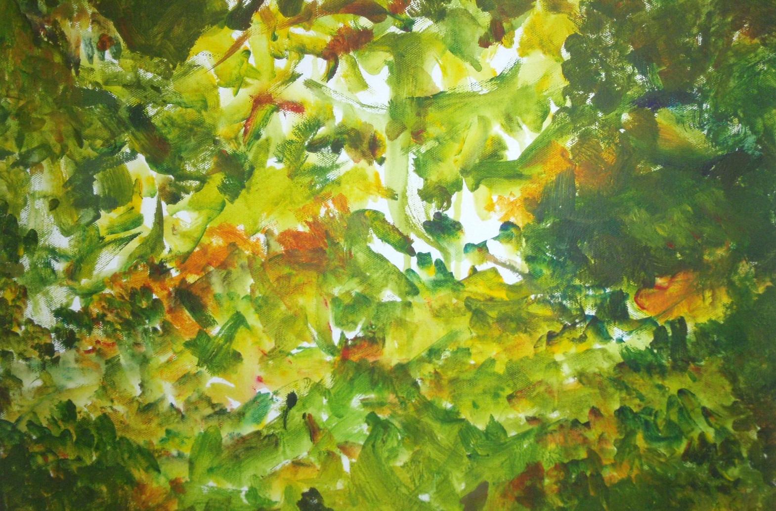 Painting by Tiffany Dawe