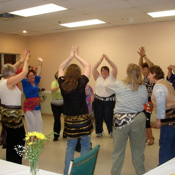 Belly dancing party