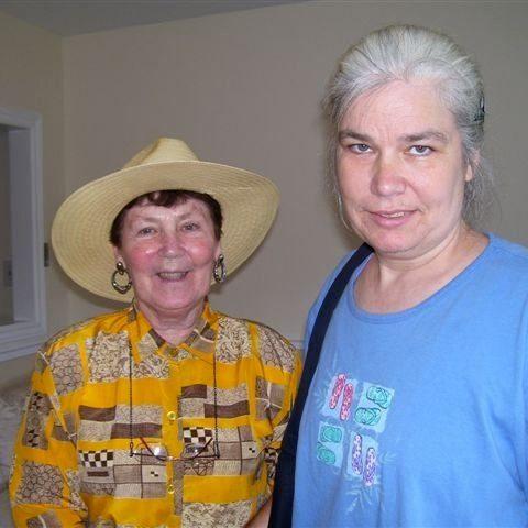 Brenda and Mom Elizabeth