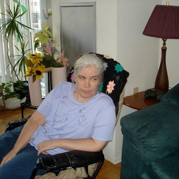 Brenda at home