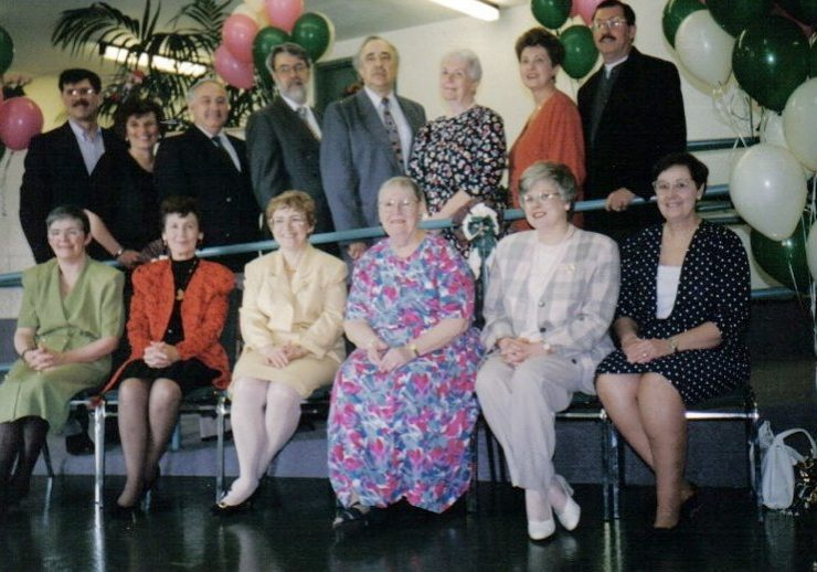 Rougemount Board in 1994